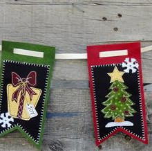 Christmas Medley Garland Bunting Kit