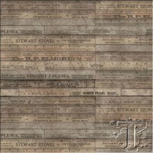 rulers in brown from tim holtz ecelectic elements