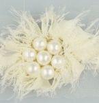 vintage pearl cluster