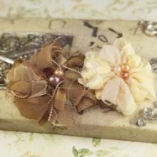 gatsby fabric flowers