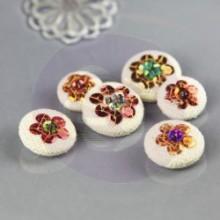 Sequin Button Embellishments 'Keya'