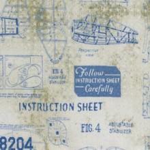 Model Airplane Fabric