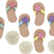 Beach Buttons