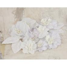 olivia fabric flowers