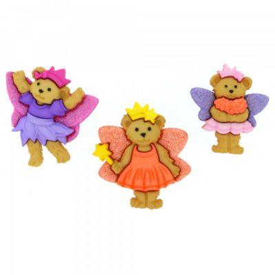 Fairy Bear Buttons