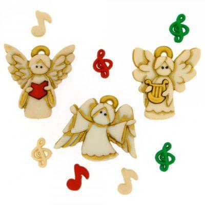 Choir Angel Buttons