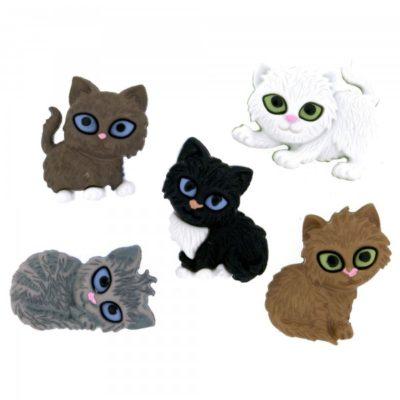 Kitten Kaboodle Buttons