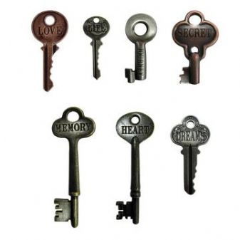 Tim Holtz Word Keys