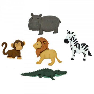 Noah's Animals Buttons