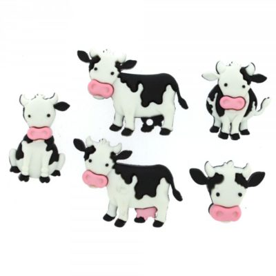 Mooove It Cow Buttons