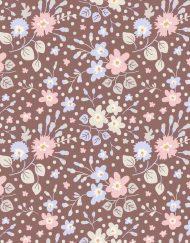 By the Yard Plum Garden Yardage TILDA PLUM GARDEN Teardrop Nutmeg Sku 100186 Tilda Quilt Fabric Gift
